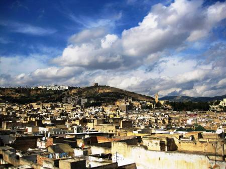 Roof Top View Fez Medina