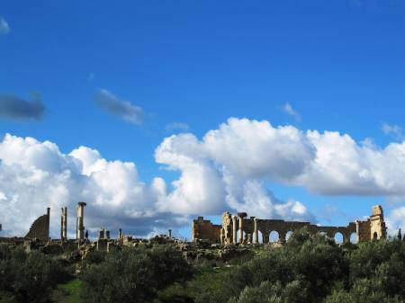 Roman City of Volubilis Morocco