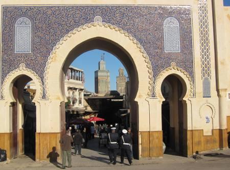 Blue Gate Fez Morocco