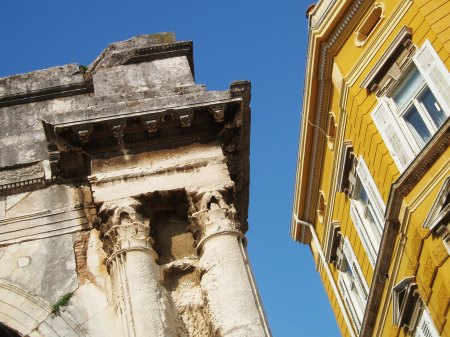 Arch of Sergii, Pula, Croatia