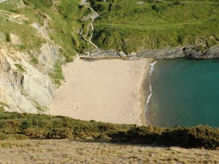 Mwnt Beach Wales Cardigan