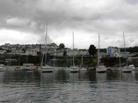 New Quay Wales Rain