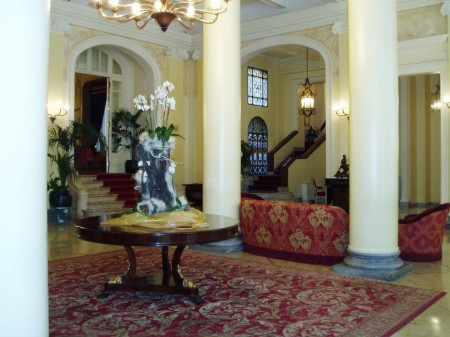 The Grand Hotel et des Palmes Palermo Sicily