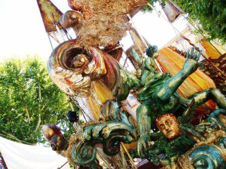 Sicily Palermo Carnival Float