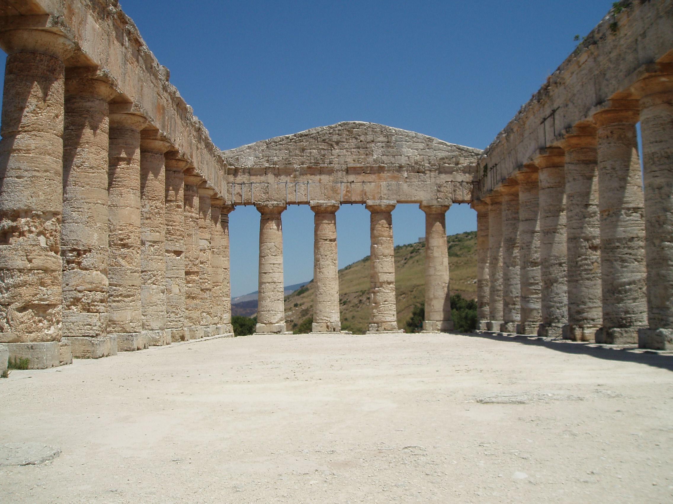 Sicily Segesta And Castellammare Del Golfo Have Bag
