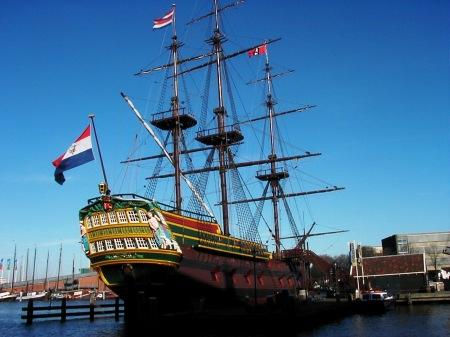 The Amsterdam, Scheepvaartmuseum or Maritime Museum