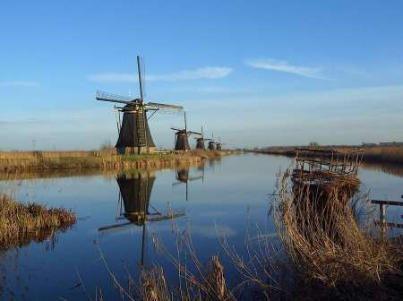 South Holland Windmills