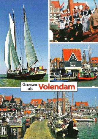 Volendam postcard