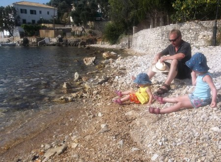 Corfu Greece Kalami