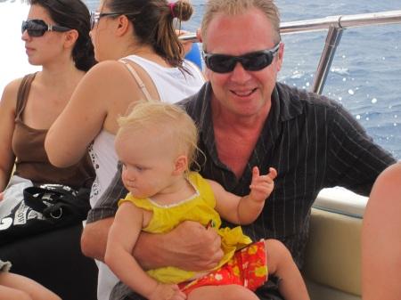 Boat Ride Drenching Corfu Greece