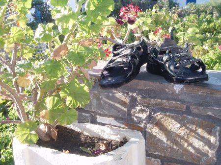 Gladiator Sandals Naxos Greece