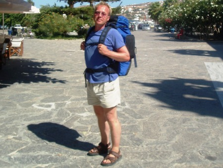 Backpacking Greece Paros