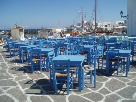 Noussa Paros Cyclades Greece