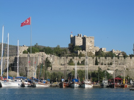 Bodrum Harbour Turkey