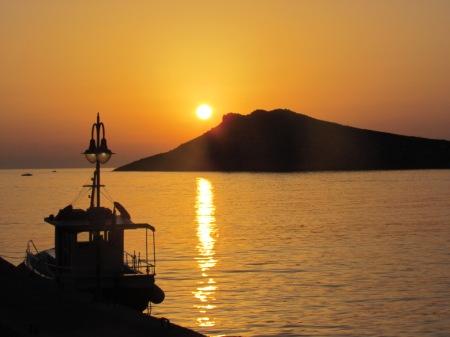 Kalymnos Tendros Sunset