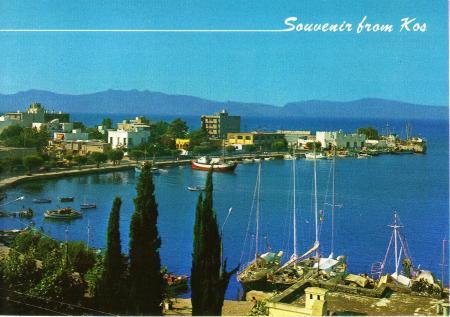 Kos Postcard 1983