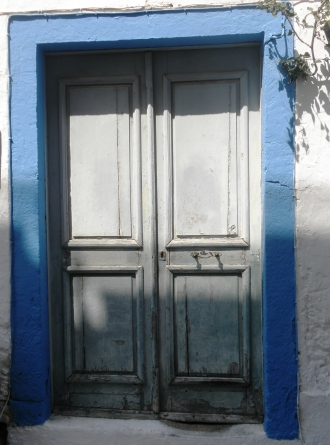Greece Kos Blue Door