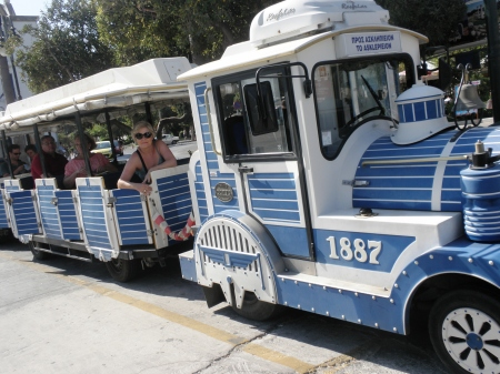 Kos, Askelepieion Tourist Train