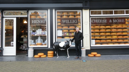 Henri Wellig Cheese Shop Delft the Netherlands