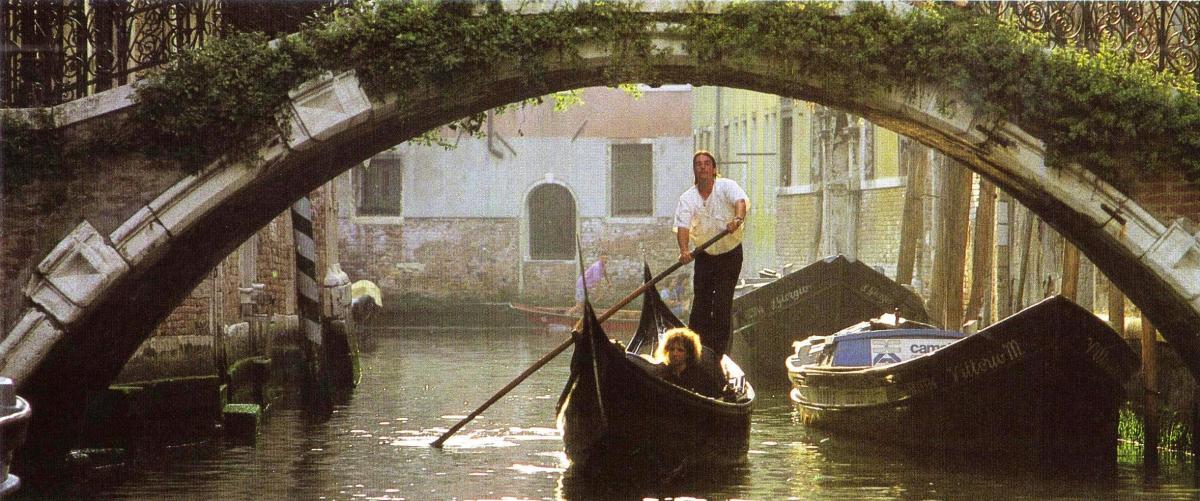 Venice, A Gondola Ride through the Canals