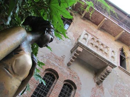 Juliet's House and Balcony Verona Italy