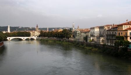 River Adige Verona Italy