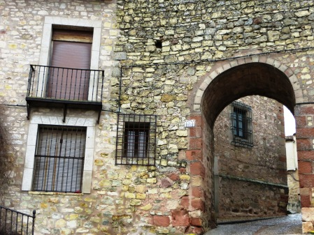 Siguenza Spain Town walls