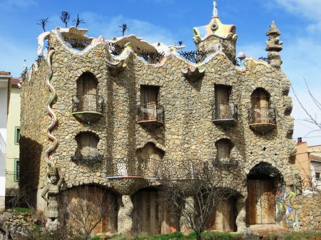 Capricho Rillano in the style of Gaudi Spain