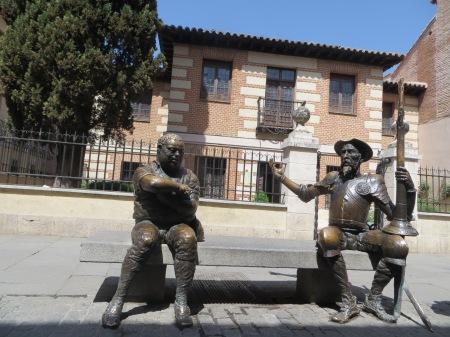 Don Quixote & Sancho Panza Alcala de Henares Spain