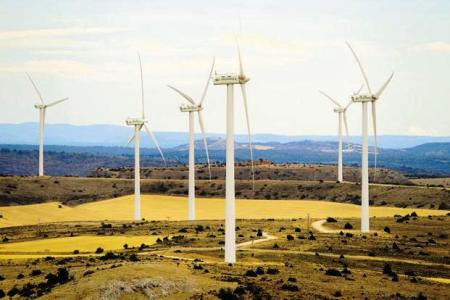 Marachon windfarm - Spain