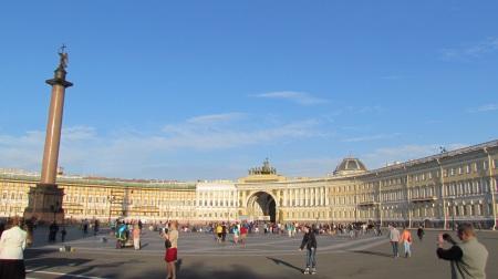 Palace Courtyard Saint-Petersburg