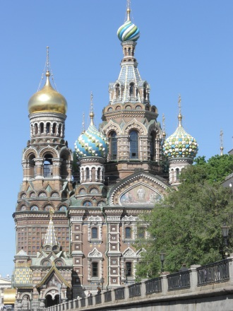 St Savior Church on Spilled Blood Saint-Petersburg