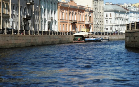 Saint Petersburg Canal Boat Tour