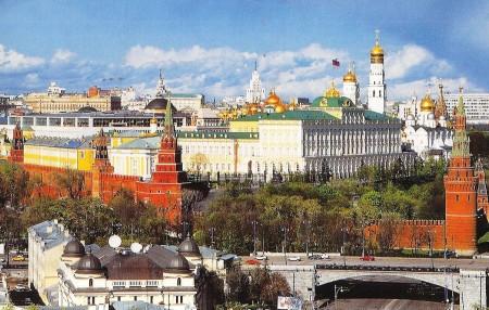 Kremlin Postcard