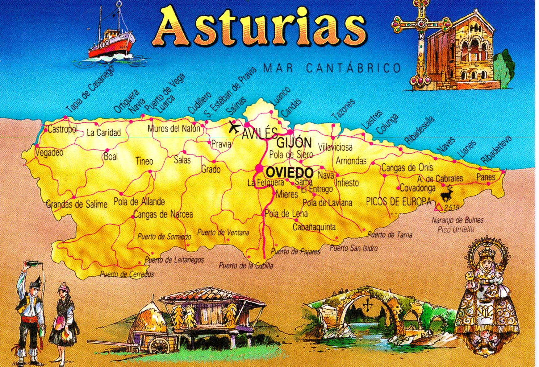 Northern Spain Asturias and the Green Coast Another Bag More Travel