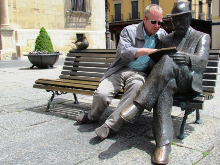 Leon Statue Spain Castila y Leon