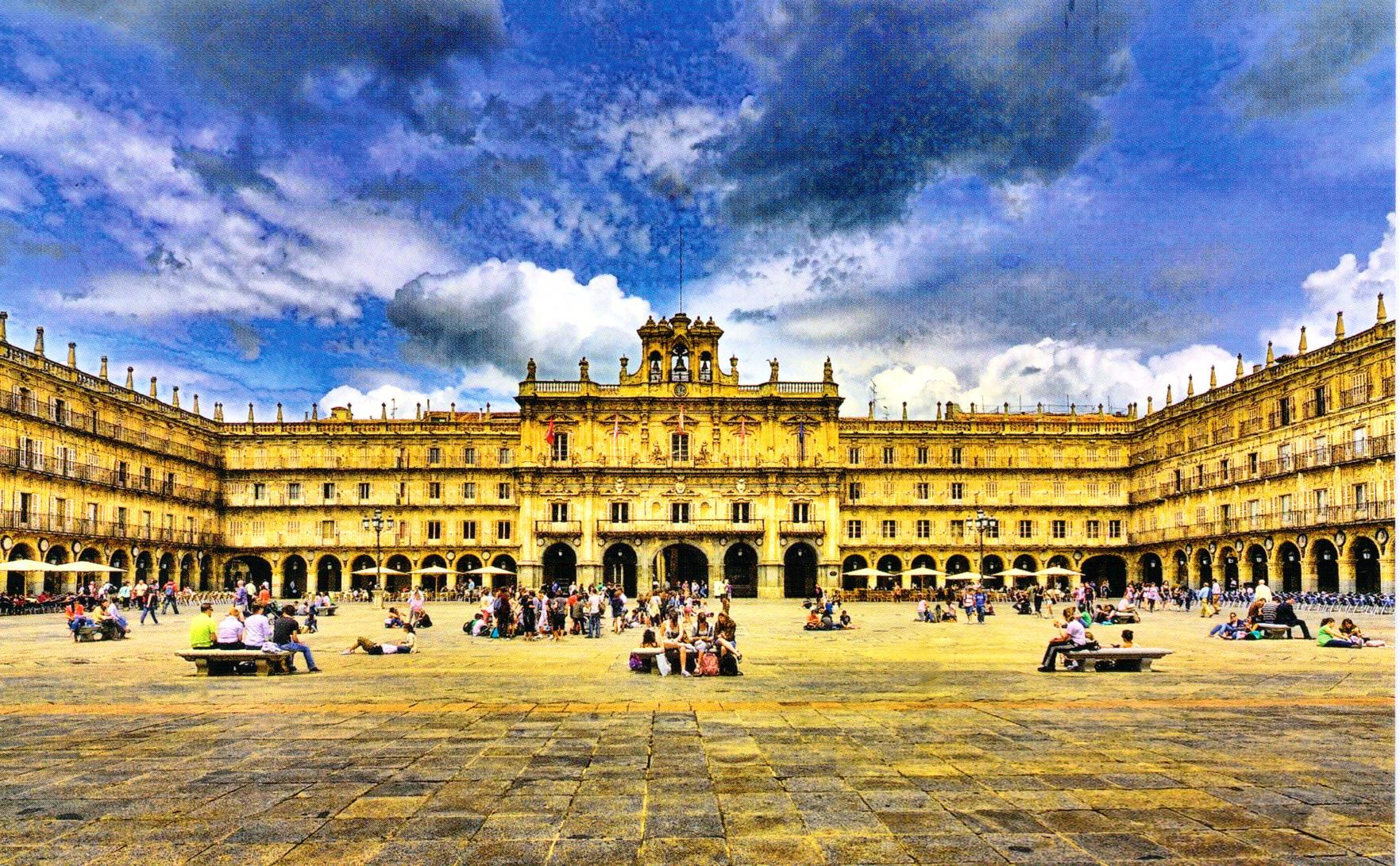 Northern spain the city of salamanca another bag more - On salamanca ...